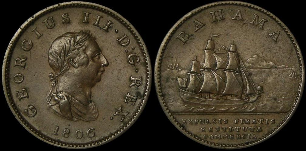 1 penny 1806 bahamas prices values for One penny homes