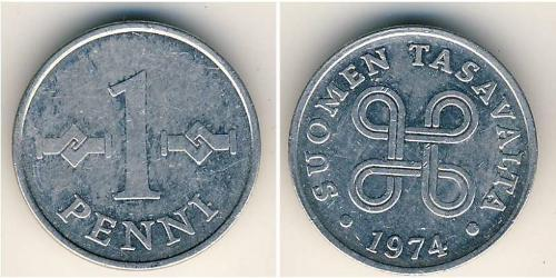 1 Penny Finland (1917 - )