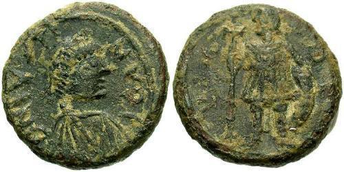 1 Pentanummium Byzantine Empire (330-1453) Bronze Justin I (450-527)