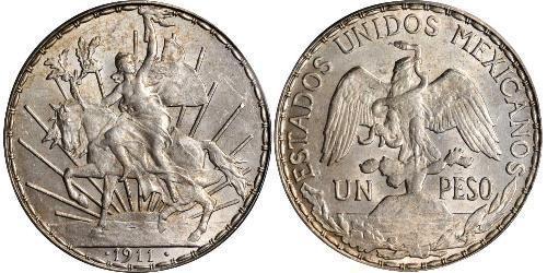 1 Peso Mexique (1867 - ) Argent