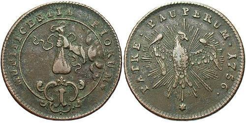 1 Pfennig Austria  Copper