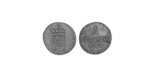 1 Pfennig Kingdom of Bavaria (1806 - 1918) Copper