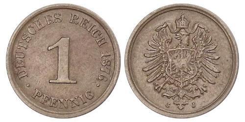 1 Pfennig 德国