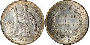 1 Piastre Indochine française (1887-1954) Argent