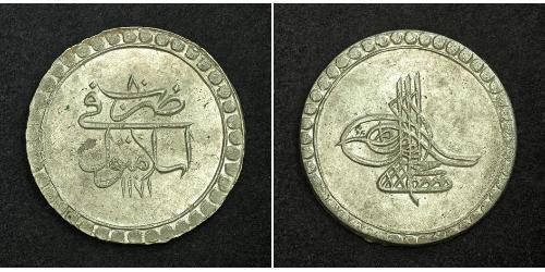 1 Piastre Impero ottomano (1299-1923) Argento Mustafa III (1757 - 1774)