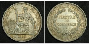 1 Piastre French Indochina (1887-1954) Silver