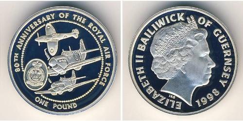 1 Pound Guernsey Silver
