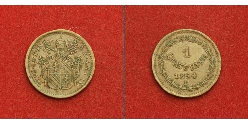 1 Quattrino Papal States (752-1870) Copper