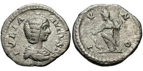 1 Quinarius Roman Empire (27BC-395) Silver Julia Domna (?-217)