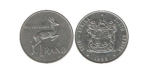 1 Rand South Africa Nickel