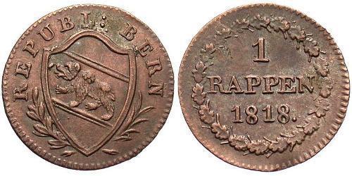 1 Rappen Switzerland