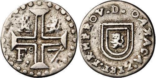 1 Real Vicereame della Nuova Spagna (1519 - 1821) Argento