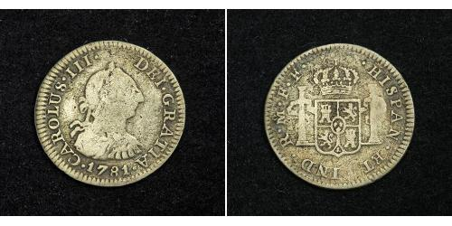 1 Real Mexico Silver