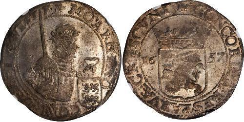 1 Rijksdaalder Provincias Unidas de los Países Bajos (1581 - 1795) Plata