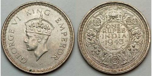 1 Rupee Raj Británico (1858-1947)