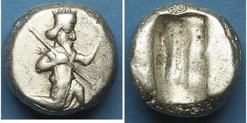 1 SIGLOS Persia / Держава Ахеменидов (550–330 BC) Серебро