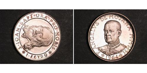 1 Scudo Rhodes et de Malte (1080 - ) Argent