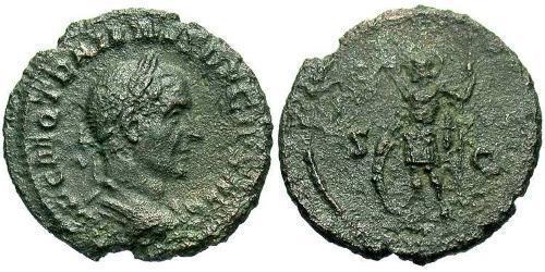1 Semissis Roman Empire (27BC-395) Bronze Trajan Decius (201-251)