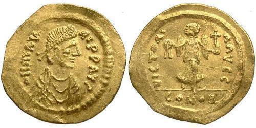 1 Semissis Byzantine Empire (330-1453) Gold Maurice Tiberius (539-602)