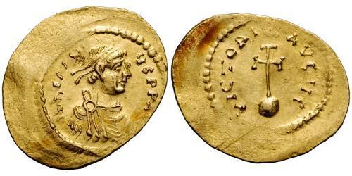 1 Semissis Byzantine Empire (330-1453) Gold Heraclius (575-641)