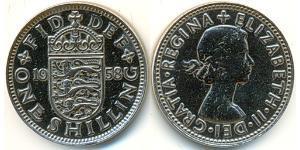1 Shilling United Kingdom (1922-) Copper-Nickel Elizabeth II (1926-)