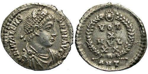 1 Siliqua Byzantine Empire (330-1453) Silver Valens (328-378)