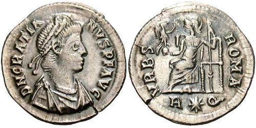 1 Siliqua Roman Empire (27BC-395) Silver Gratian (359-383)