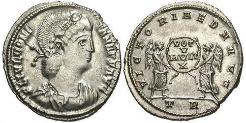1 Siliqua Roman Empire (27BC-395) Silver Constans I (320-350)