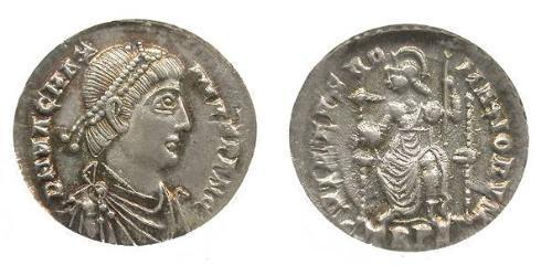 1 Siliqua Western Roman Empire (285-476) Silver Magnus Maximus (335-388)