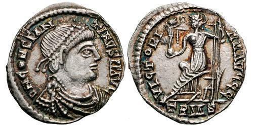1 Siliqua Western Roman Empire (285-476) Silver Constantine III (?-411)