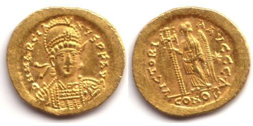 1 Solidus Byzantine Empire (330-1453) Gold Marcian (392-457)