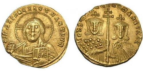 1 Solidus Byzantine Empire (330-1453) Gold Constantine VII (905 -959)