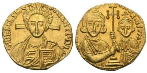 1 Solidus Byzantine Empire (330-1453) Gold