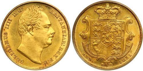 1 Sovereign Reino Unido de Gran Bretaña e Irlanda (1801-1922) Oro Guillermo IV (1765-1837)