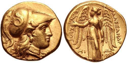 1 Stater Seleucid Empire (312BC-63 BC) Gold Seleucus I Nicator (358BC-281BC)