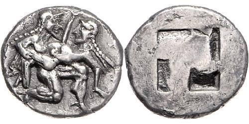 1 Stater Antikes Griechenland (1100BC-330) Silber