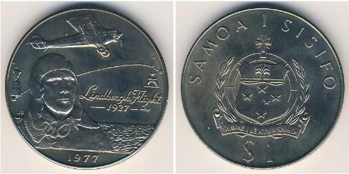 1 Tala Samoa Copper/Nickel