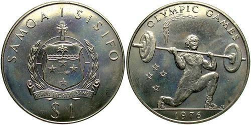 1 Tala Samoa Copper/Nickel