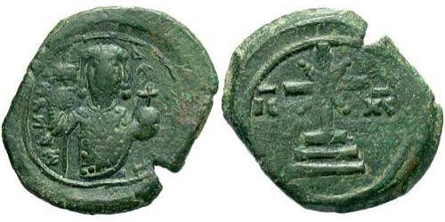 1 Tetarteron Byzantine Empire (330-1453) Bronze Manuel I Komnenos(1118-1180)