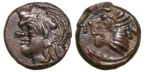 1 Tetrachalkon Ancient Greece (1100BC-330) Bronze