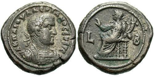 1 Tetradrachm Roman Empire (27BC-395) Billon Valerian I (193-260)