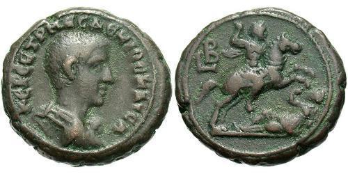 1 Tetradrachm Roman Empire (27BC-395) Bronze Herennius Etruscus (227-251)