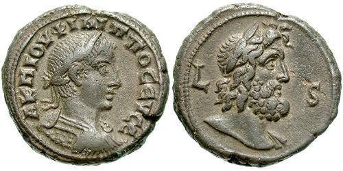 1 Tetradrachm Roman Empire (27BC-395) Bronze Philip II (237-249)