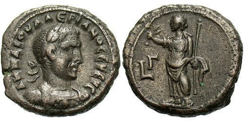 1 Tetradrachm Roman Empire (27BC-395) Bronze Valerian I (193-260)