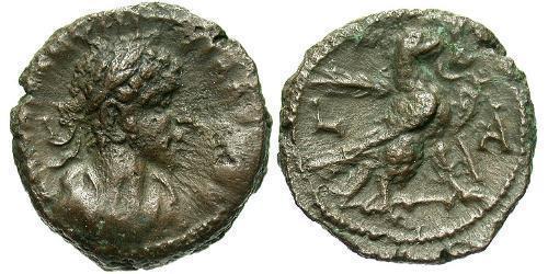 1 Tetradrachm Roman Empire (27BC-395) Bronze Quintillus (220-270)
