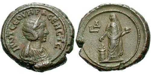 1 Tetradrachm Roman Empire (27BC-395) Bronze Otacilia Severa (244-249)