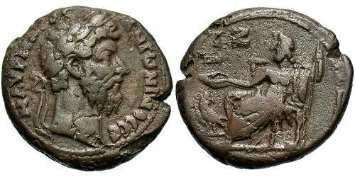 1 Tetradrachm Roman Empire (27BC-395) Bronze Marcus Aurelius (121-180)