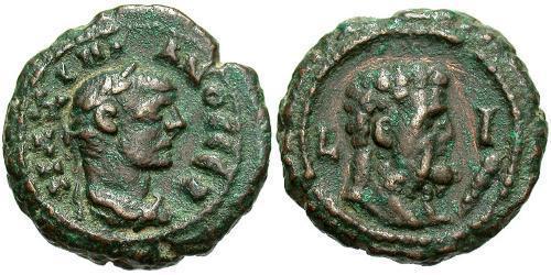1 Tetradrachm Roman Empire (27BC-395) Bronze Maximianus (250-310)