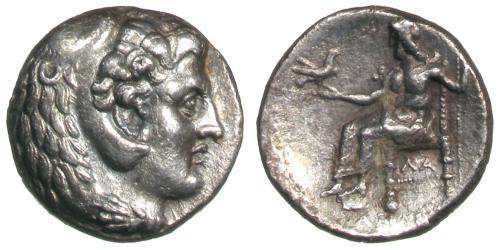 1 Tetradrachm Macedonian Kingdom (800BC-146BC) Silver Philip III Arrhidaeus (359 BC - 317BC)