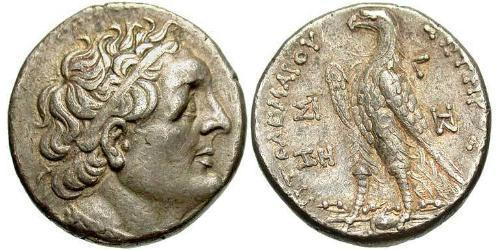 1 Tetradrachm Ptolemaic Kingdom (332BC-30BC) Silver Ptolemy III Euergetes(282BC-222BC)